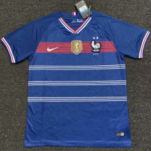 2019/20  2 Start France Blue Fans Soccer Jersey