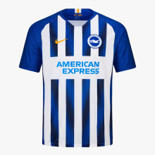 2019/20 Brighton Home Blue And white Fans Soccer Jersey