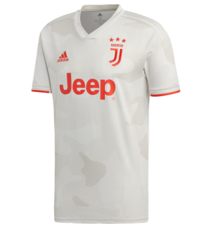 2019/20 JUV 1:1 Quality Away White Fans Soccer Jersey