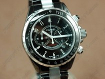 シャネルChanel Superleggera Full Ceramic Japanese Qtz Working Chronosクオーツストップウォッチ