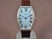 カルティエCartier Jewellery Ladies SS Caseクオーツ