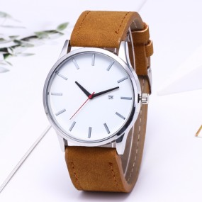 Fashion Simple Mens Watches Complete Calendar Wristwatch Gents