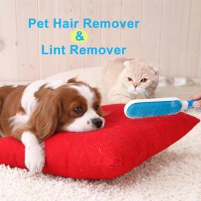 Pet Hair Remover & Lint Remover Double-sided Electrostatic Multi-function Three-piece Suit