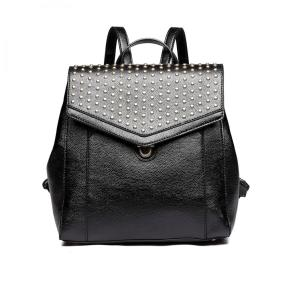 2018 TREND - Rivet Zipper Backpack