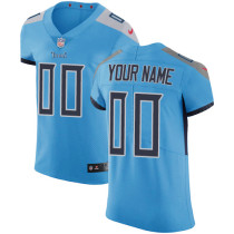 Men's Customized Football Club Team Blue Alternate Jersey - Elite