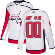 Youth Customized Ice Hockey Club Team White Away Jersey