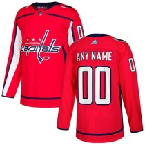 Men's Customized Ice Hockey Club Team Red Home Jersey