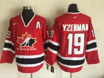 Men's Ice Hockey Team Canada Player Jersey - Throwback