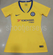 Thai Version Chelsea 18/19 Women's Away Soccer Jersey