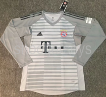 Thai Version Bayern Munich 18/19 LS Goalkeeper Soccer Jersey