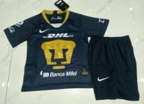 Pumas UNAM 18/19 Kids Third Soccer Jersey and Short Kit