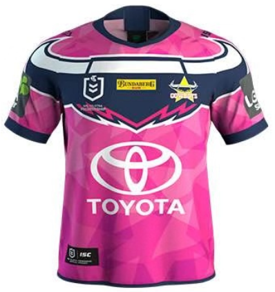 Cowboy edition 19/20 Rugby Jersey - Pink
