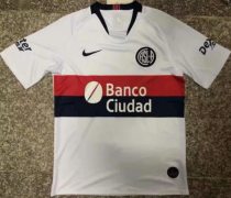 Thai Version San Lorenzo 19/20 Away Soccer Jersey