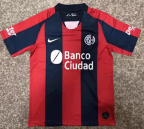 Thai Version San Lorenzo 19/20 Home Soccer Jersey