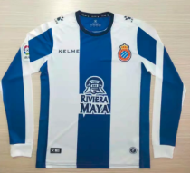 Thai Version Espanyol 19/20 LS Home Soccer Jersey