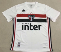 Thai version Sao Paulo 19/20 Home soccer jersey