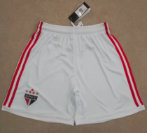 Thai Version Sao Paulo 19/20 Home Soccer Shorts