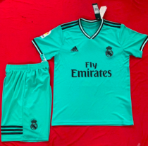 Real Madrid 19/20 Away Soccer Jersey and Short Kit