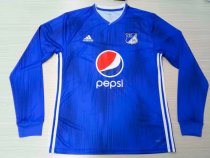 Thai Version Millionarios 19/20 LS Home Soccer Jersey