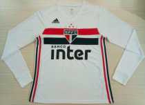 Thai Version Sao Paulo 19/20 LS Home Soccer Jersey