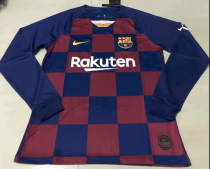 Thai Version Barcelona 19/20 LS Home Soccer Jersey