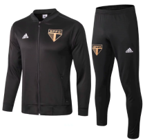 Sao Paulo 18/19 Jacket and Pants - Black