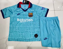 Barcelona 19/20 Kids Third Soccer Jersey and Short Kit