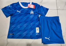 Olympique Marseille 19/20 Kids Away Soccer Jersey and Short Kit