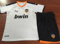 Valencia 19/20 Home Soccer Jersey and Short Kit