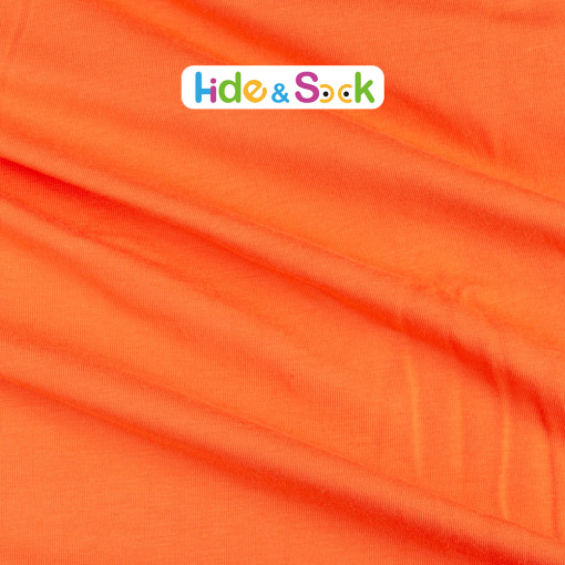 Orange  - Solids Jersey Knit - 1/2 Yard
