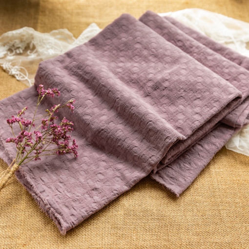 Dusty Pink - Jacquard - 1/2 Yard