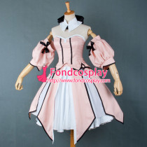 Fate Unlimited Codes Saber Lily Dress Cosplay Costume Tailor-Made[G755]