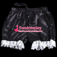 Sissy Maid Satin Bloomers Cosplay Costume Tailor-Made[G2060]