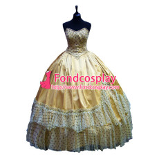 Victorian Rococo Gown Ball Dress Gothic Evening Dress Costume Tailor-Made[G953]