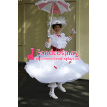 Mary Poppins World Dress Cosplay Costume Tailor-Made[G907]