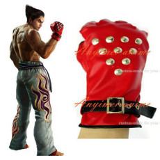 Tekken Kazuya Mishima Gloves Game Cosplay Costume Custom-Made[G576]