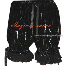 Gothic Lolita Punk Black Pvc Bloomers Cosplay Costume Tailor-Made[CK917]