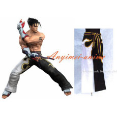 Tekken Jin Kayama Trousers Pants Game Cotton Cosplay Costume Custom-Made[G450]