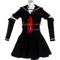 Gothic Lolita Punk Fashion Dress School Uniform Cosplay Costume Tailor-Made[CK962]