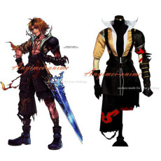 Final Fantasy Ffx Teda Tidus Jacket Coat Game Cosplay Costume Tailor-Made[G458]