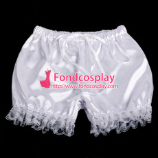 Sissy Maid Satin Bloomers Cosplay Costume Tailor-Made[G2058]