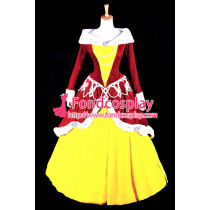 Grimms' Fairy Tales Belle Princess Dress Cosplay Christmas Costume Custom-Made[G856]