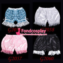 Sissy Maid Satin Bloomers Cosplay Costume Tailor-Made[G2056]