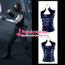 Captain America The Winter Soldier James Jacket Coat Outfit Vest Cosplay Costume Tailor-Made[G1342]