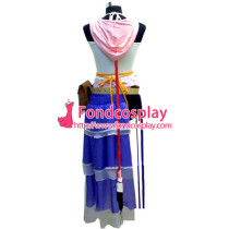 Final Fantasy Ffx-2 Yuna Outfit Game Cosplay Costume Tailor-Made[G043]
