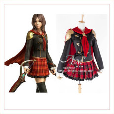 Final Fantasy Type 0 Rem New Dress Cosplay Costume Tailor-Made[G713]