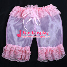 Sissy Maid Satin Bloomers Cosplay Costume Tailor-Made[G2059]