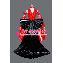 Sissy Maid Gothic Lolita Punk Fashion Dress Cosplay Costume Tailor-Made[G854]