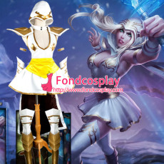 Lol League Of Legends-Freljord Ashe Outfit Game Costume Tailor-Made[G1073]