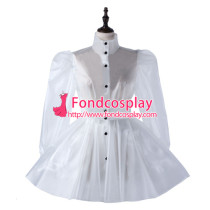 Sissy Maid Clear Pvc Dress Lockable Uniform Cosplay Costume Tailor-Made[G2213]